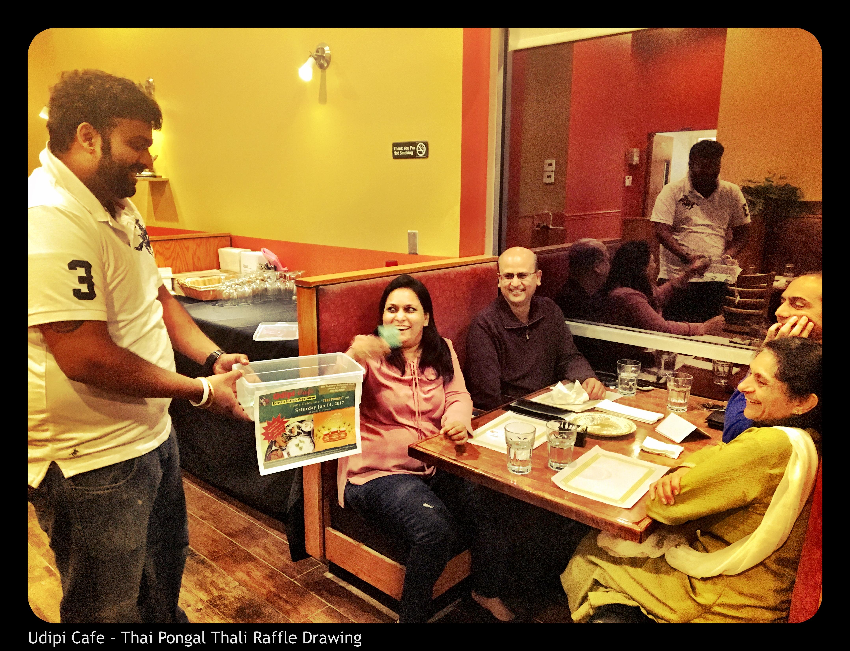 Pongal Thali Raffle Draw 2017 - Winner Vivek Joshi
